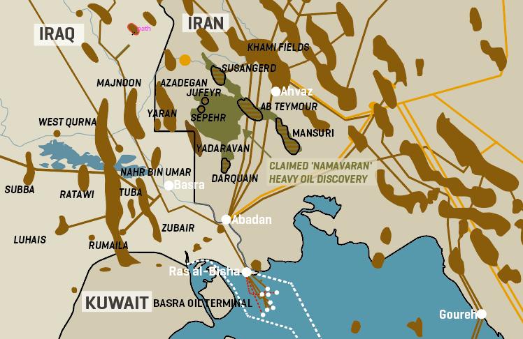 Iran's Namaravan Deep Heavy Oil Discovery