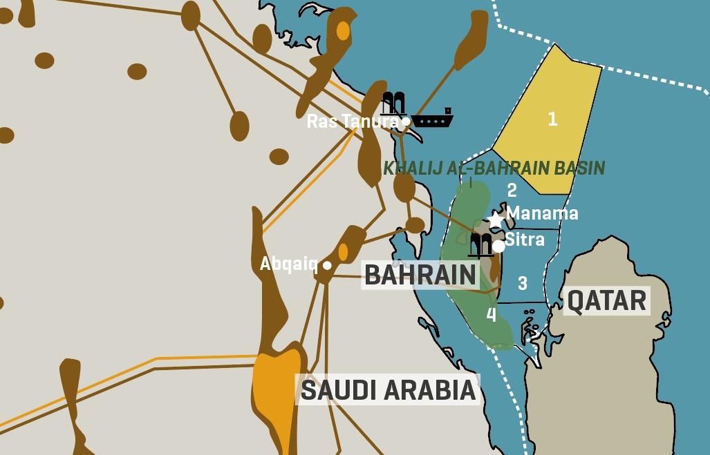 Bahrain Oil & Gas Blocks