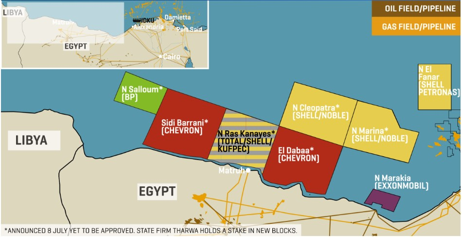 Full House: Latest Awards* Mean All Five Supermajors Have Signed Up For Egypt's Virgin West Med Acreage