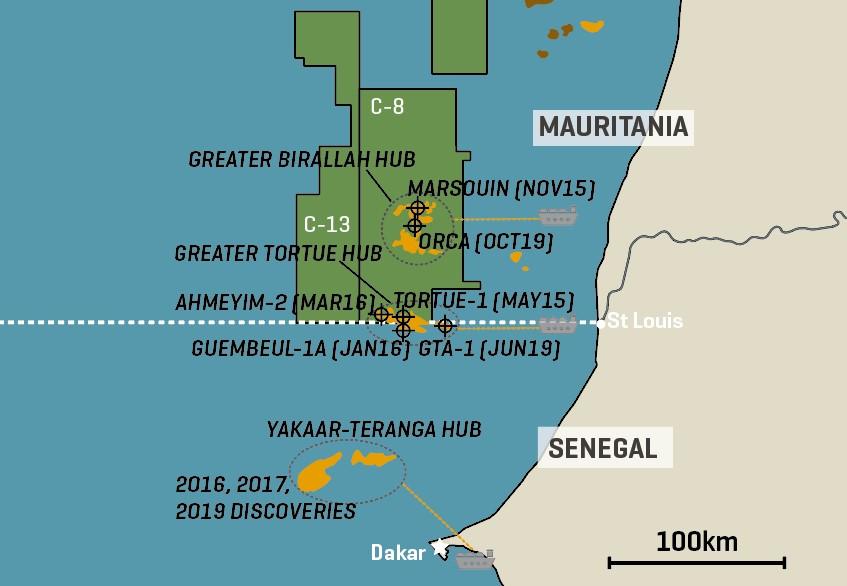 BP/Kosmos Mauritania/Senegal LNG Hub Plans