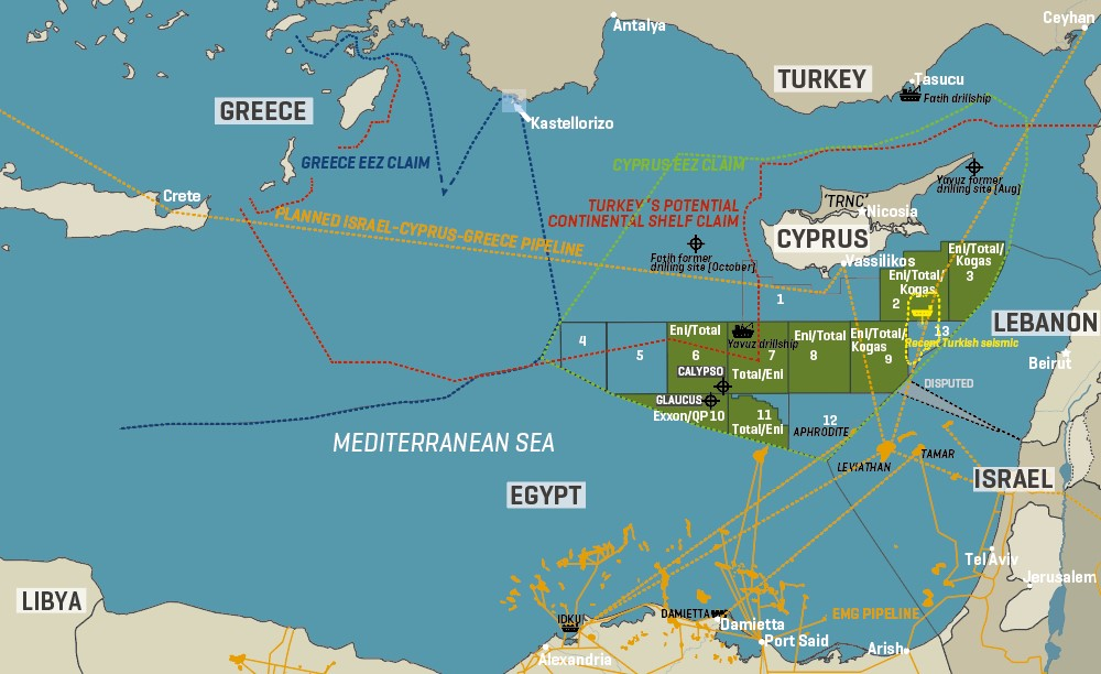 Claims And Counterclaims In The Eastern Mediterranean