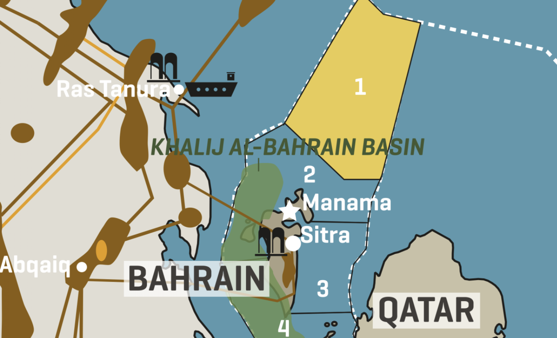 Bahrain Oil and Gas Blocks