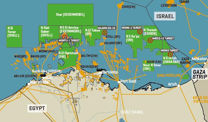 Egypt Offshore Drilling: Key Targets , Fields & Blocks
