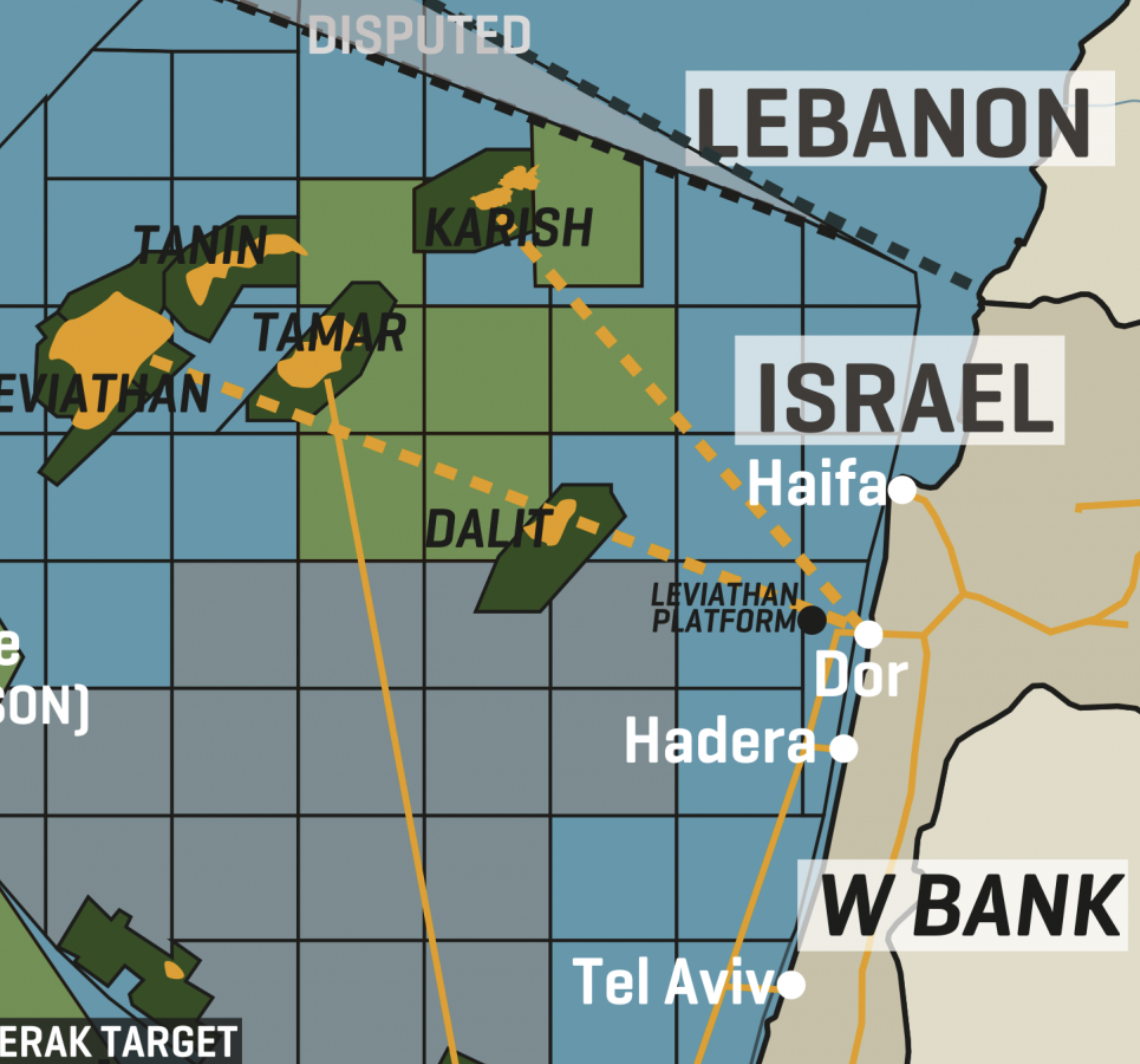 Israel: Key Gas Infrastructure
