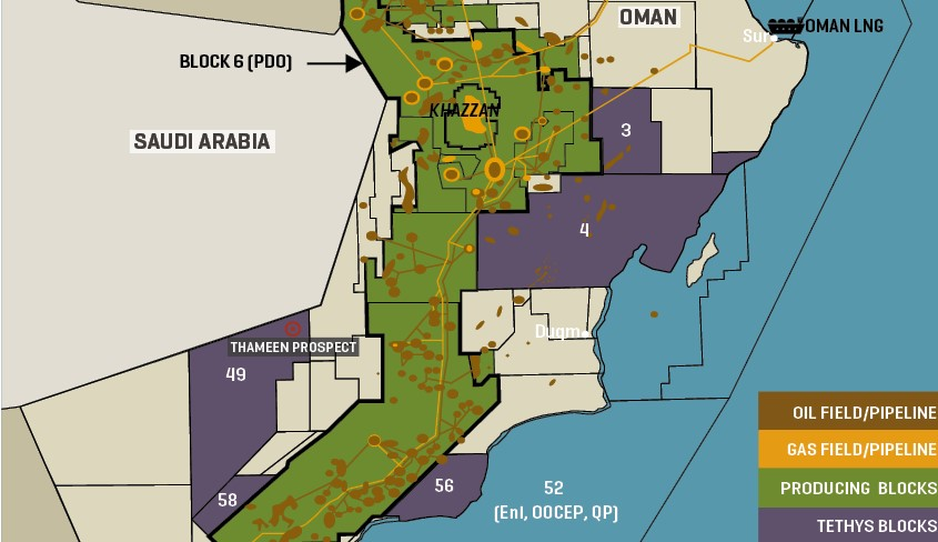 Key Oman Oil And Gas Infrastructure