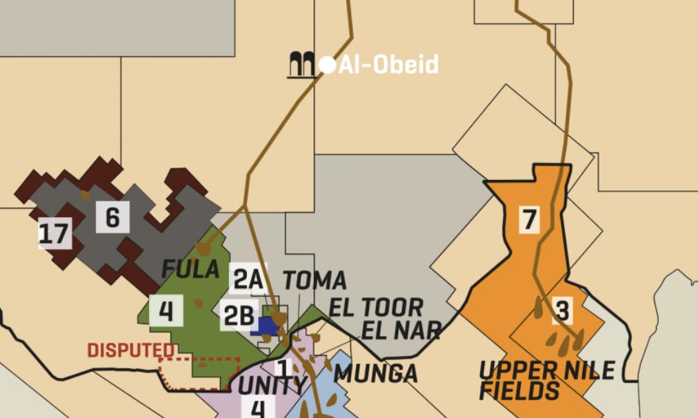Sudan & South Sudan Eye Oil Fields & Infrastructure